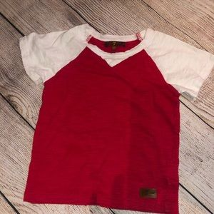 7 For All Mankind toddler tee